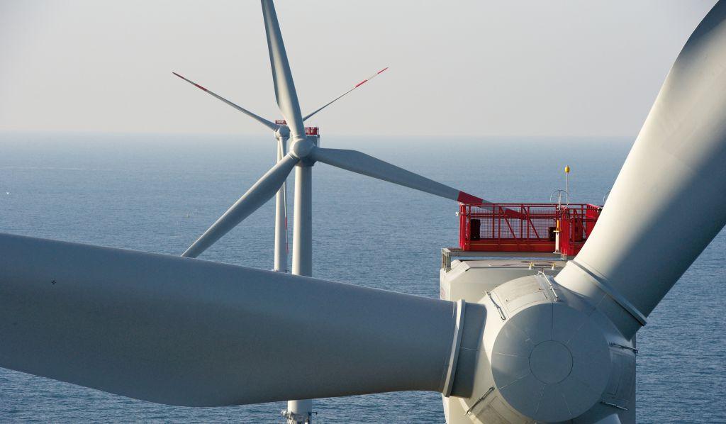 Photo du parc éolien Alpha Ventus, Borkum (Dieppe Le Tréport)