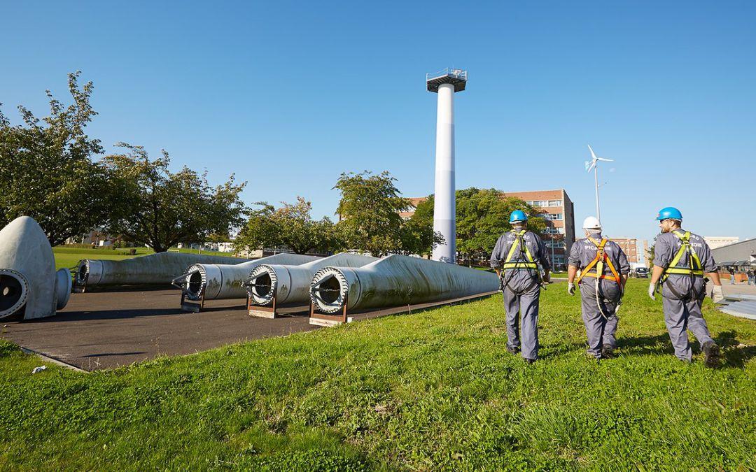 WindLab forme les futurs techniciens de maintenance du parc éolien