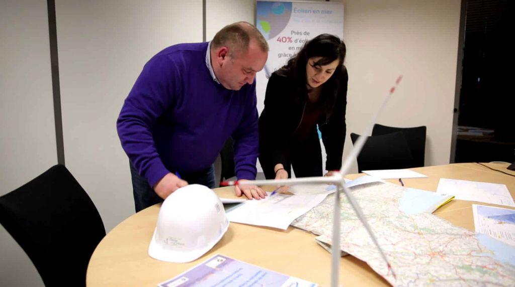 Photo présentant Jacques Roudier garant de la concertation du projet de Dieppe – Le Tréport