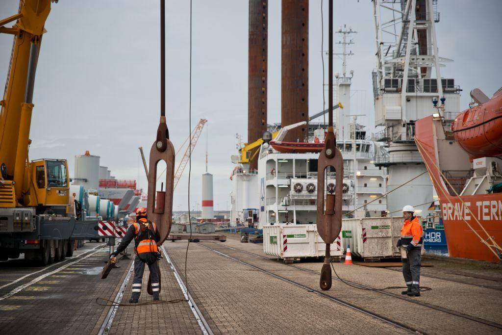 Photo illustrant le projet de la société Éoliennes en Mer Dieppe Le Tréport sur la mobilisation du tissu industriel local