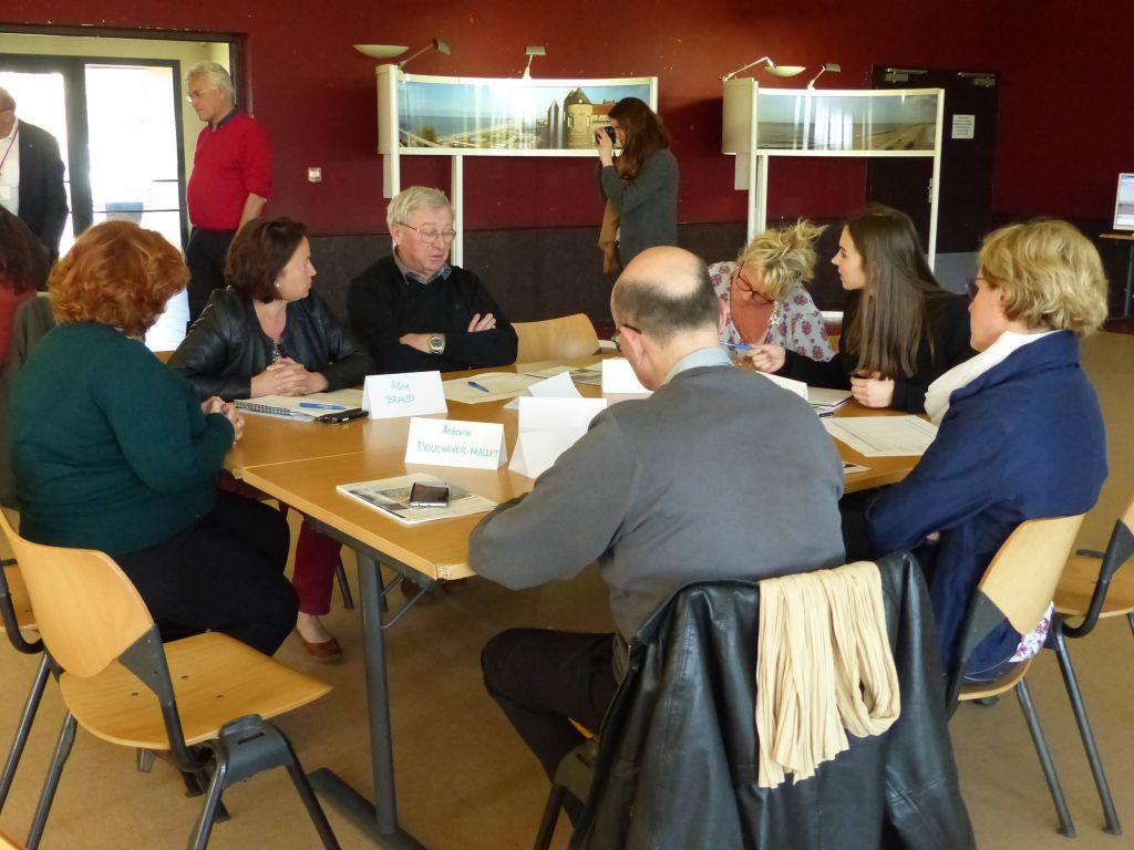 """Photo de l'atelier """"Tourisme"""" du 5 avril 2016 à Dieppe"""
