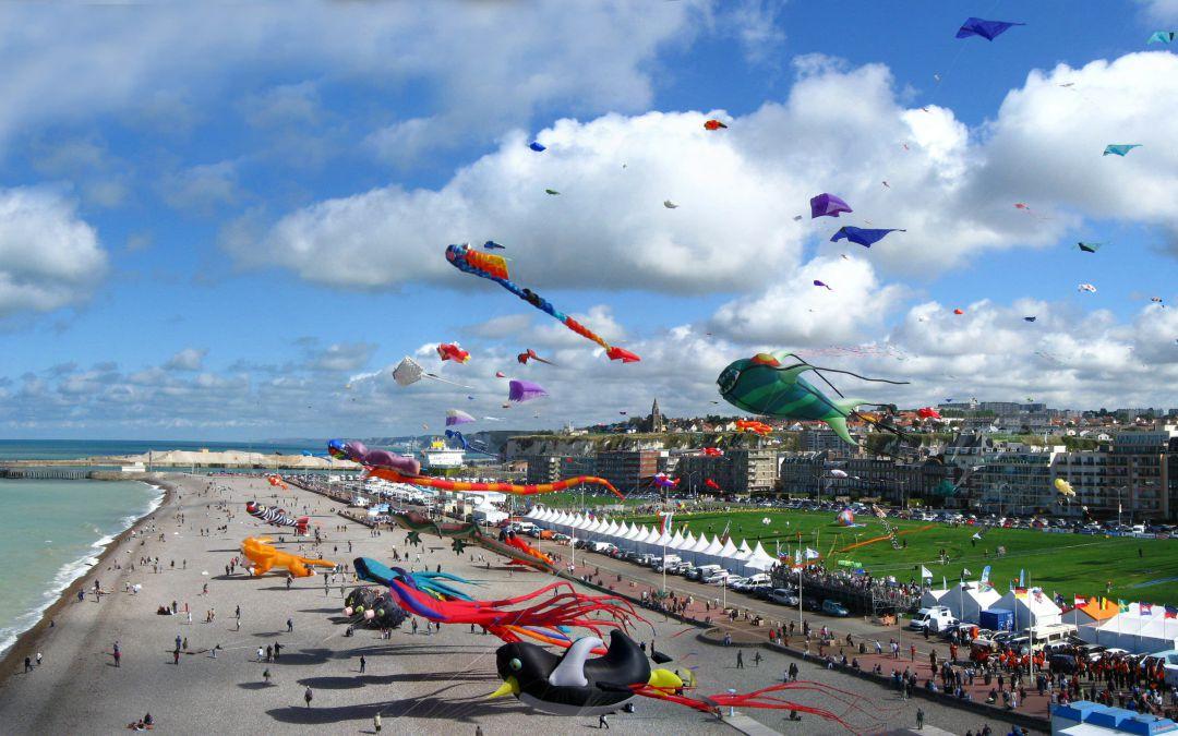 Le festival du Cerf-Volant de Dieppe 2016