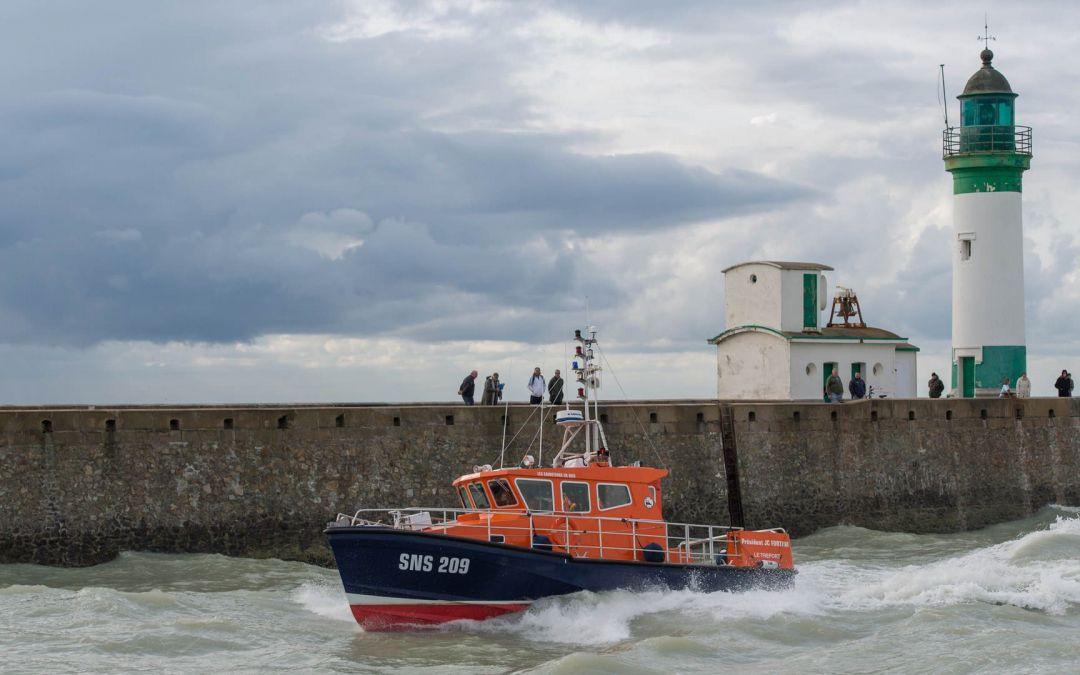 Les Sauveteurs Marins aux côtés du parc éolien en mer