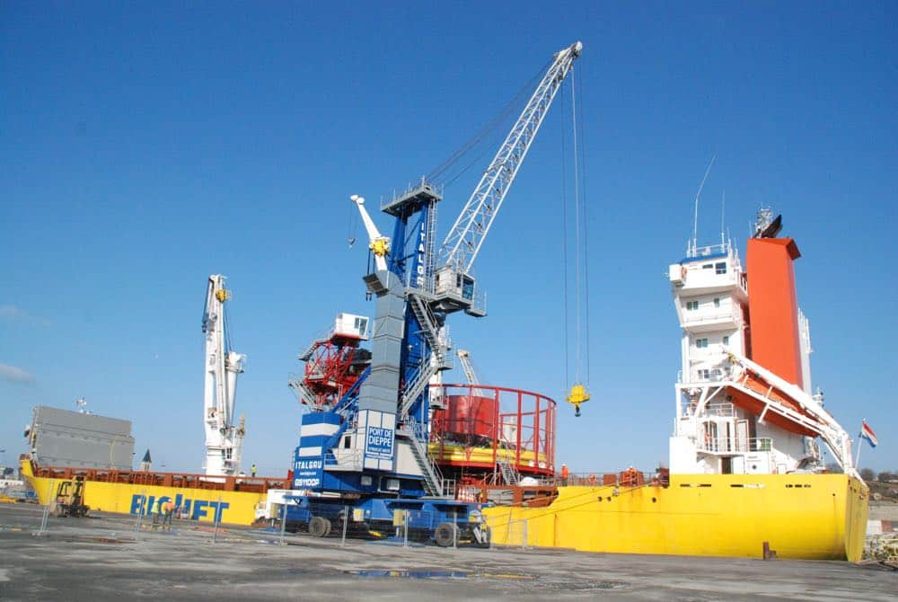 Le Port de Dieppe se prépare à accueillir le projet de parc éolien en mer