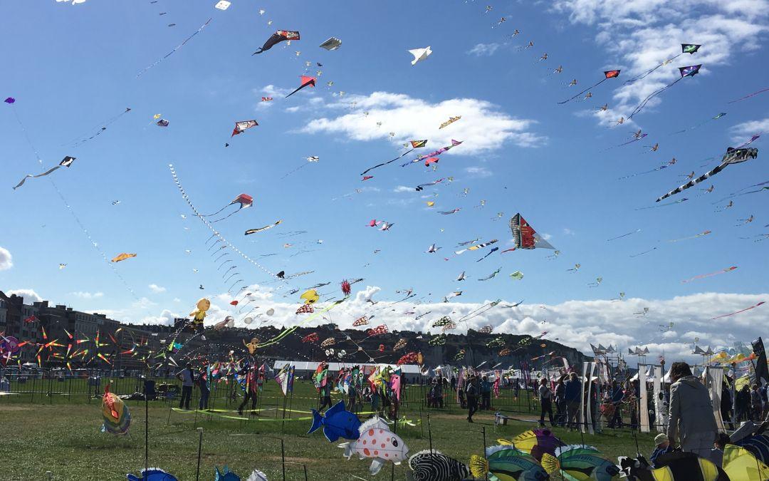 La 20ème édition du Festival international du cerf-volant de Dieppe