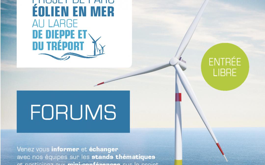 Forums au Tréport et à Dieppe les 29 et 30 octobre 2019