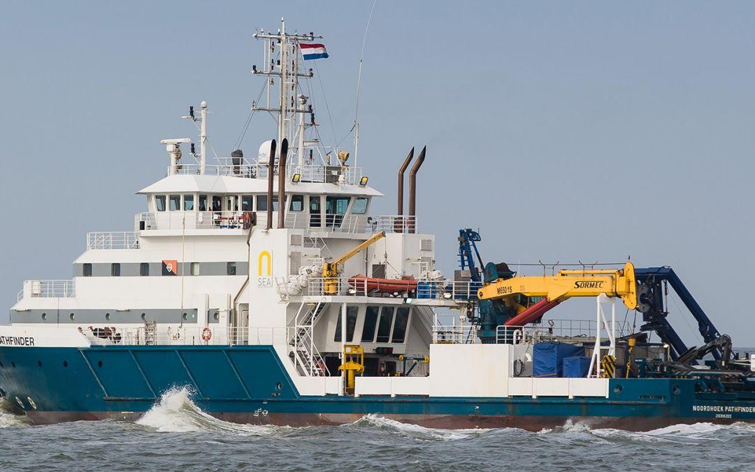 Campagne en mer au large de Dieppe Le Tréport